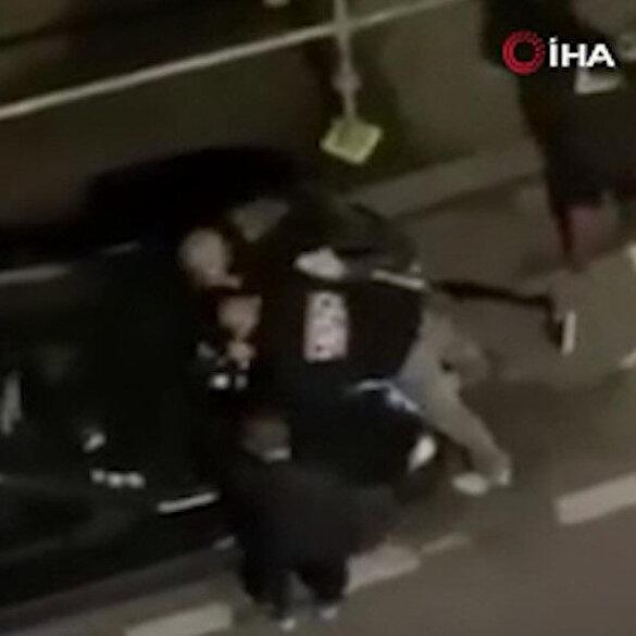 Fransa'da koronavirüs tedbirlerine uymayıp partiye katılan 2 genç, polis şiddetine uğradı