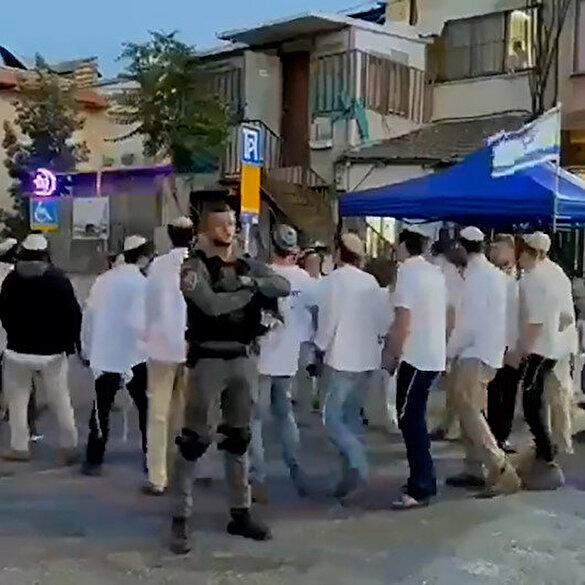 Yahudiler Filistinlileri kışkırtmak için iftar vakti eğlence düzenledi