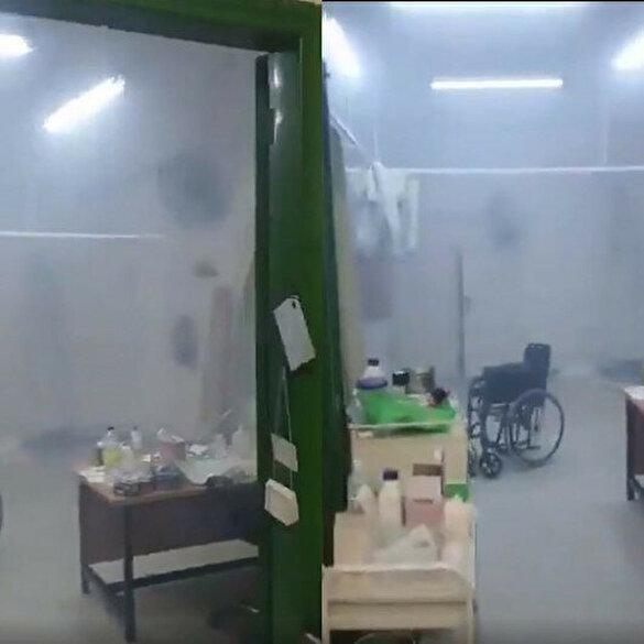 İşgalci İsrail güçleri yaralıların tedavi edildiği kliniği bastı