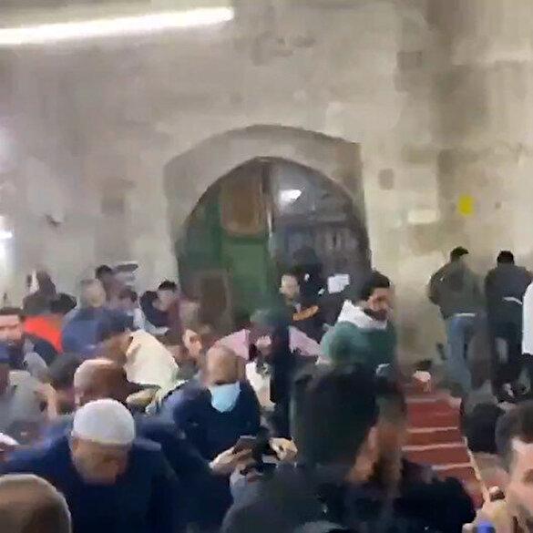 İşgalci İsrail güçlerinin Filistinlilere saldırdığı anlar