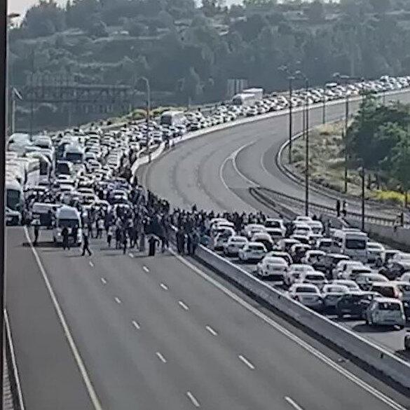 İşgalci İsrail güçleri Mescid-i Aksa'ya giden otobüsleri durdurdu: Kudüslü gençler kardeşlerini özel araçlarıyla aldı