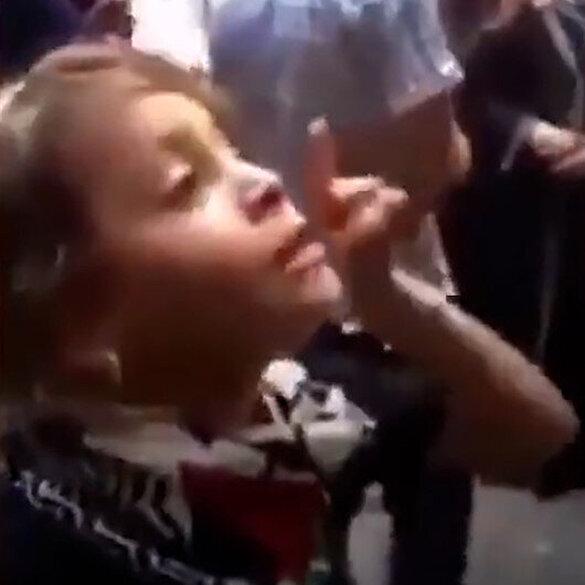 Filistinli küçük kızın işgalci İsrail polisine sözleri yeniden gündemde: Siz hatalısınız ve teröristsiniz