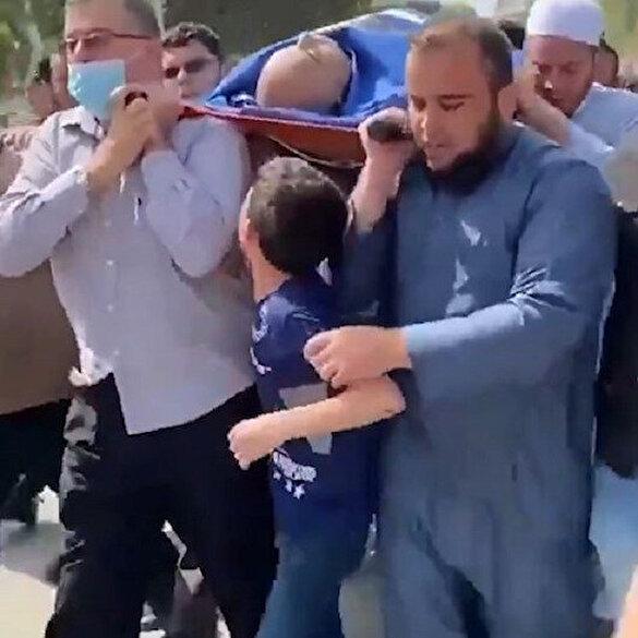 İsrail'in Gazze bombardımanında babasını kaybeden Filistinli çocuktan yürek burkan feryat: Elveda baba