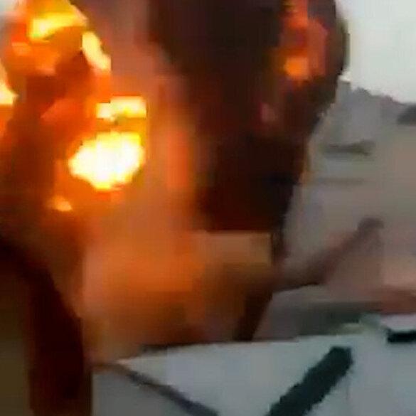 İşgalci İsrail sabahın ilk saatlerinde Gazze'ye tekrar saldırdı