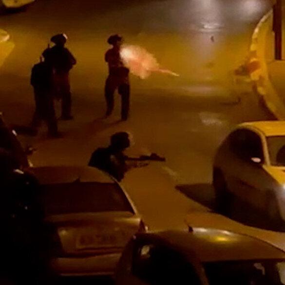 İsrail barbarlığı: Yoldan geçen araçlara keyfi olarak ateş ettiler