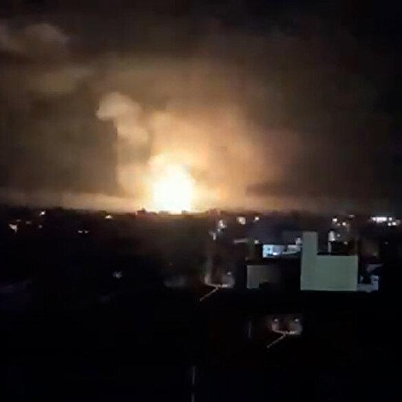 İsrail Gazze'yi vuruyor: Gazze şiddetli bombardıman altında