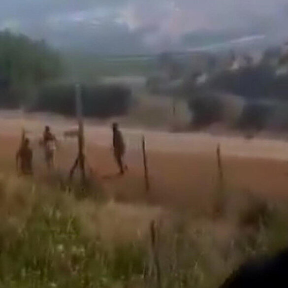İşgalci İsrail, Filistin sınırını geçmeye çalışan Lübnanlılara ateş açtı: 1 yaralı