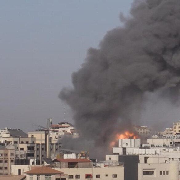 İşgalci İsrail, Gazze'deki