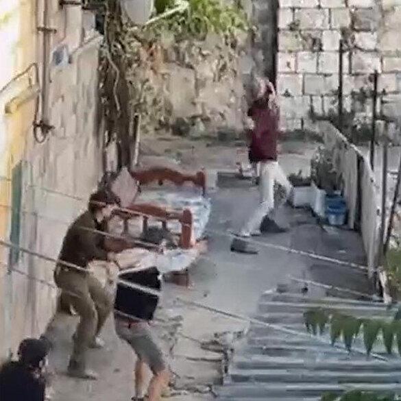 İşgalciler, Doğu Kudüs'te Filistinlilere ateş açtı