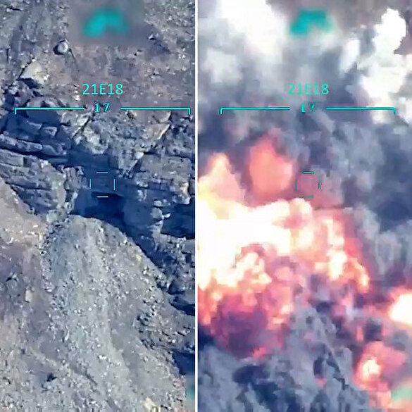 PKK Suriye Genel Sorumlusu Sofi Nurettin'in öldürüldüğü operasyon görüntüleri paylaşıldı
