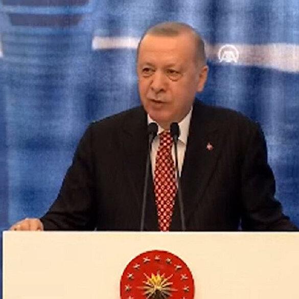 Cumhurbaşkanı Erdoğan'dan Kanal İstanbul açıklaması: Haziranın sonunda temeli atıyoruz