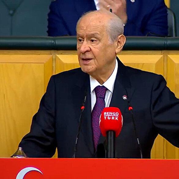 MHP Genel Başkanı Devlet Bahçeli: Senin için yanan her meşale gençliğimin güneşidir Beşiktaş