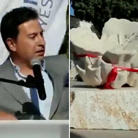 CHP'li Belediye Başkanı Aras'ın heykel mutluluğu: Paralar bunlar için harcanacak