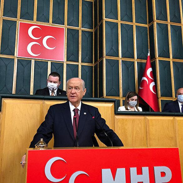 Devlet Bahçeli: Ülkemizdeki muhalefet iktidarı düşürmek için vatanı bile düşürmeye hazırdır