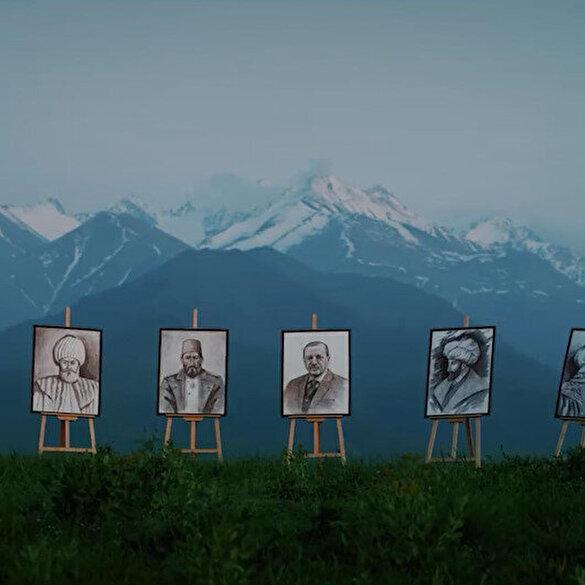 Kırgız sanatçıdan