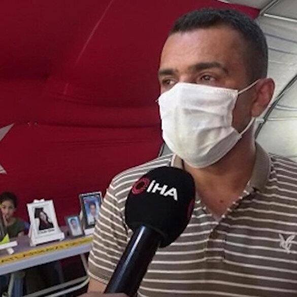 Evlat nöbetindeki babadan HDP'li Buldan'a tepki: PKK'ya katılım sıfıra mı indi ve bundan rahatsızlık mı duydunuz?