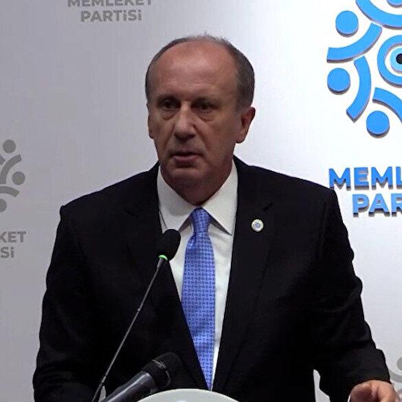 Muharrem İnce'den CHP'ye: Siz iktidar olsanız bu memleketin anasını ağlatırsınız