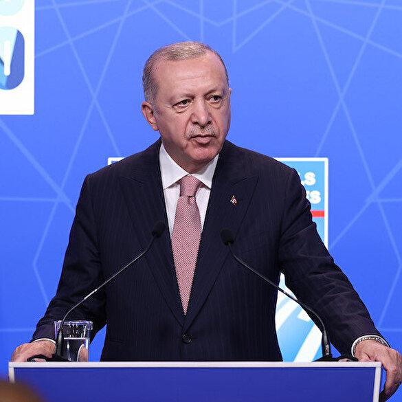 Cumhurbaşkanı Erdoğan'dan Macron açıklaması: Kendisi bana