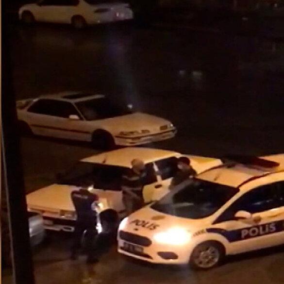 Alkollü sürücüden polise tehdit: Seni ya da çocuklarını bulup hesap soracağım