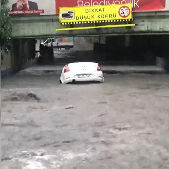 AK Parti İstanbul İl Başkanlığından kentteki su baskınları için manidar paylaşım