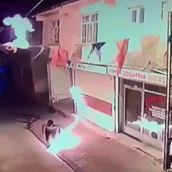 AK Parti Hani İlçe Başkanlığı'na molotoflu saldırı düzenlendi