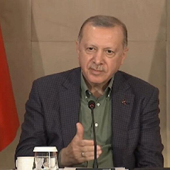 Cumhurbaşkanı Erdoğan'dan 'Babanızın vefatından sonra size yol gösteren babalık yapan ikinci bir kişi oldu mu?' sorusuna duygulandıran cevap