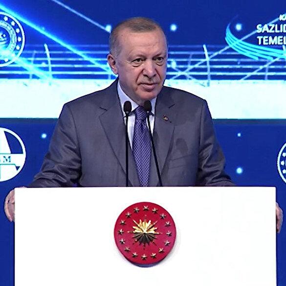 Cumhurbaşkanı Erdoğan: Biz Kanal İstanbul'a İstanbul'un geleceğin kurtarma projesi olarak bakıyoruz