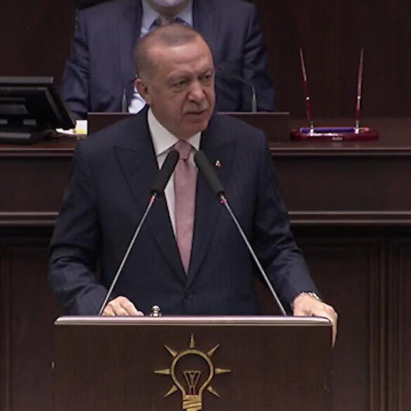Tough question from President Erdogan to the opposition: Are you disturbed because we did not receive instructions from Qandil?