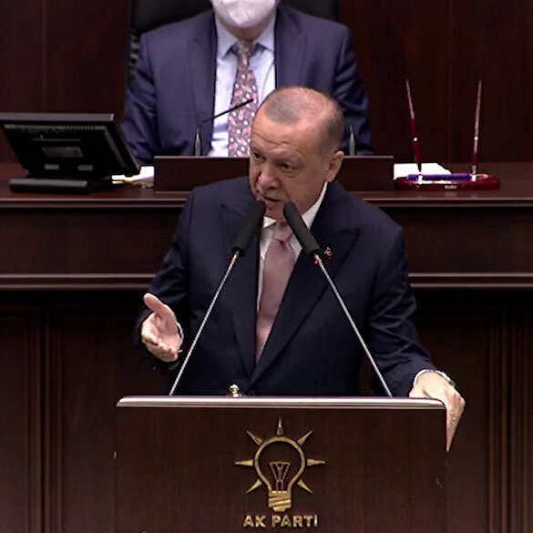 President Erdoğan referred to CHP members who opened illegal businesses at the foot of the Kaz Mountains: Their problem is not the tree.
