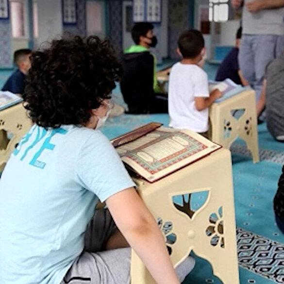 Yaz Kur'an kursları başladı: Camiler 2 yıl sonra çocuk sesine kavuştu