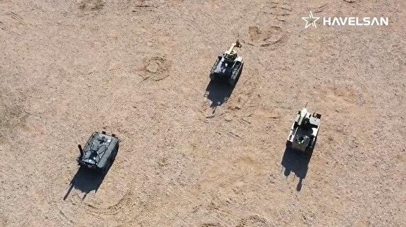TSK'ya robot asker 'Barkan' geliyor: Sürü halinde görev yapabilecek