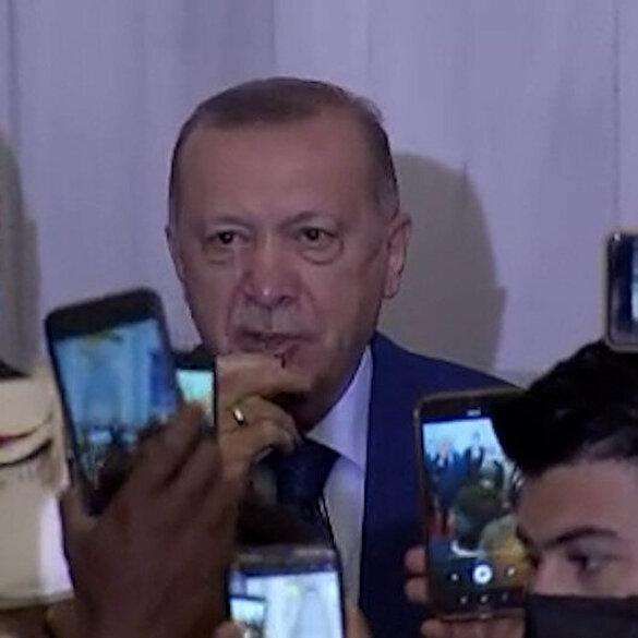 Cumhurbaşkanı Erdoğan: Artık Kıbrıs Türkü diyoruz