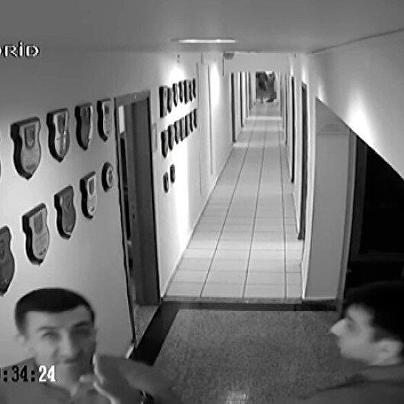 Yurtta sulh konseyindeki firari FETÖ'cü yarbayın Akıncı Üssü'ndeki görüntüleri ortaya çıktı