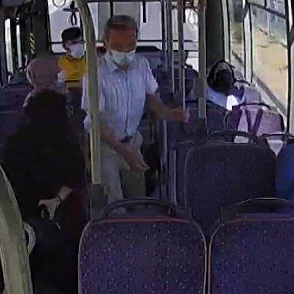 Siirt'te bayılan yolcuyu otobüs şoförü hastaneye yetiştirdi
