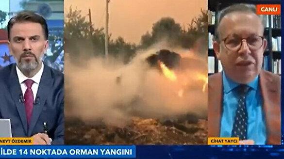 Emekli Tümamiral Cihat Yaycı'dan yangınlara ilişkin flaş açıklama: Devlet Yunan-PKK terörüyle karşı karşıya