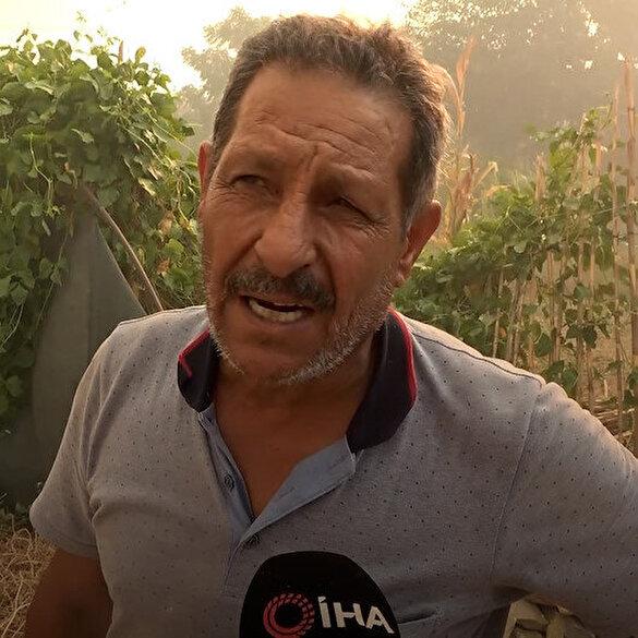Manavgat'taki yangında mahallesi küle dönen vatandaş: Yapanın iki gözü kör olsun!