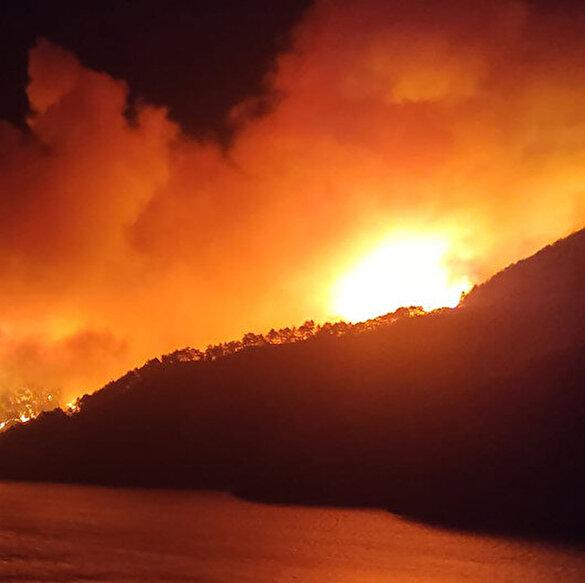 Adana Kozan'da yangın paniği: Köyler tahliye ediliyor