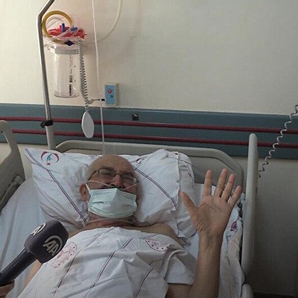 Tedavileri süren yaralılar yangında yaşadıklarını anlattı: Felçliyim evden çıkamadım askerler beni kurtardı