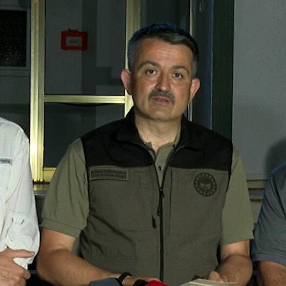 Bakan Pakdemirli yangınlardaki son durumu açıkladı: Sekiz bölgede yangın devam ediyor