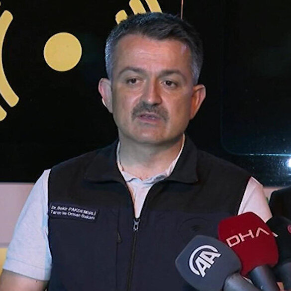 Bakan Pakdemirli: Türkiye fukara bir devlet değildir gerekli tüm ekipmanların en iyisini kullanıyoruz
