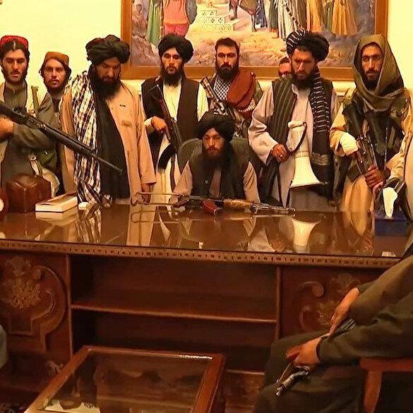 Taliban Cumhurbaşkanlığı Sarayı'nın kontrolünü ele geçirdi