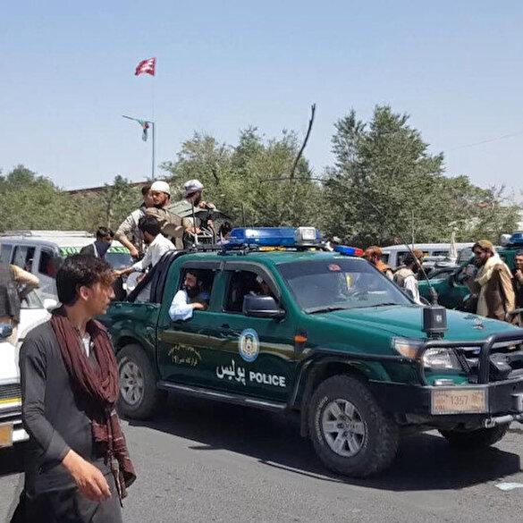 Taliban güçleri Kabil'de devriyeye başladı