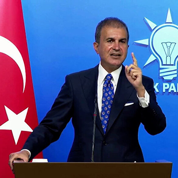 AK Parti Sözcüsü Çelik: Türkiye kimsenin göçmen kampı değildir