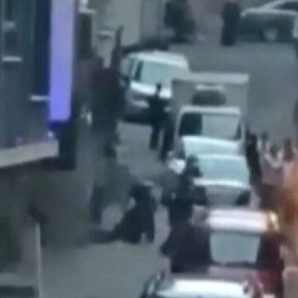 Esenler'de sokak arasında silahlı kavga