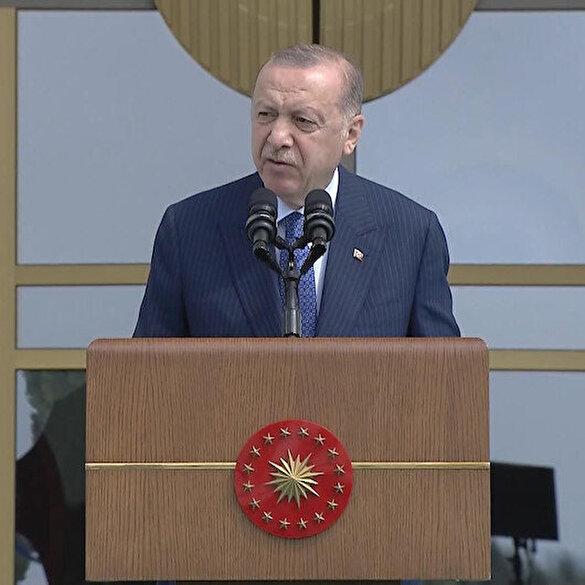 Cumhurbaşkanı Erdoğan: Türkiye son 19 yılda istihdam sayısını 9,5 milyon artırırken çalışanların gelir seviyesini de katbekat yükseltmiş bir ülke