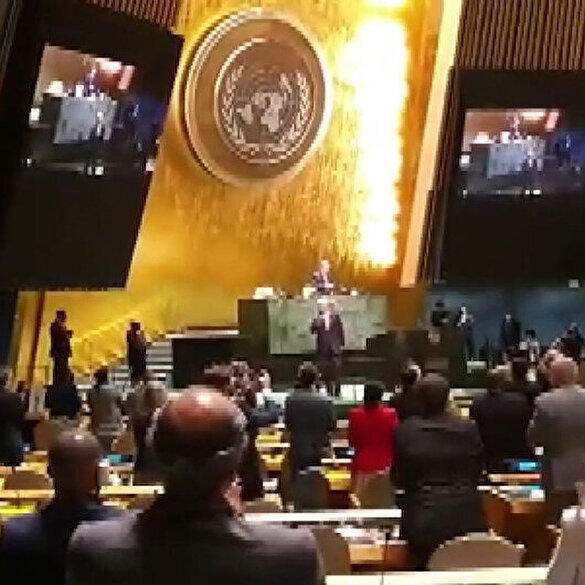 Cumhurbaşkanı Erdoğan'dan BM Genel Kurul Başkanlığı görev süresini tamamlayan Bozkır'a tebrik mesajı