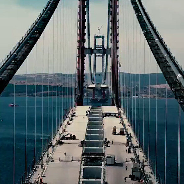 Bakan Karaismailoğlu'ndan '1915 Çanakkale Köprüsü' paylaşımı: Bir başyapıt