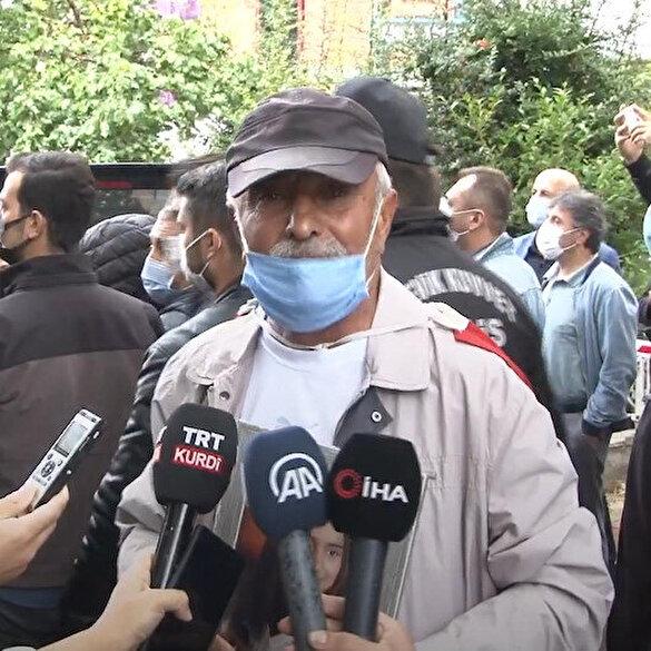 Evlat nöbeti tutan Laçin'den HDP'ye sert tepki: Siz katilsiniz halkın partisi olamazsınız