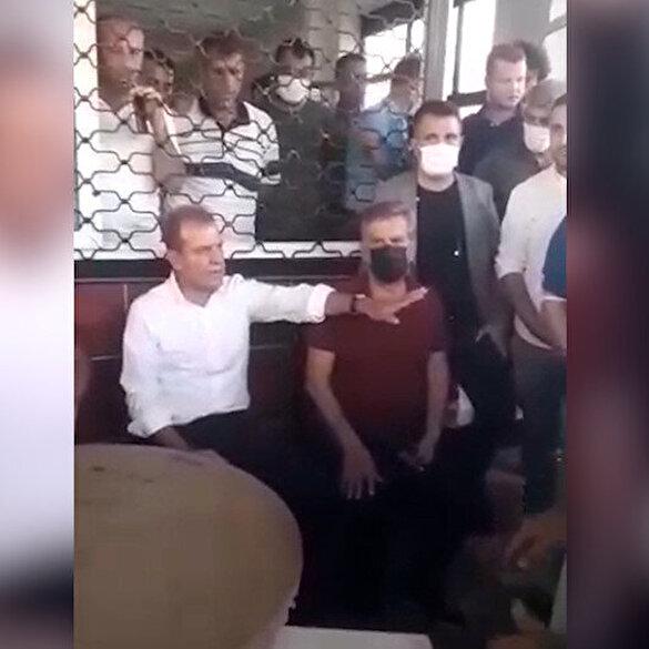 CHP'li Mersin Büyükşehir Belediye Başkanı Vahap Seçer vatandaşı azarladı: Herkes haddini hududunu bilsin
