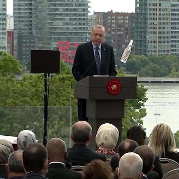 Türkevi açılış töreninde Cumhurbaşkanı Erdoğan'dan 'Dünya beşten büyüktür' vurgusu: Daha adil bir düzeni savunuyoruz